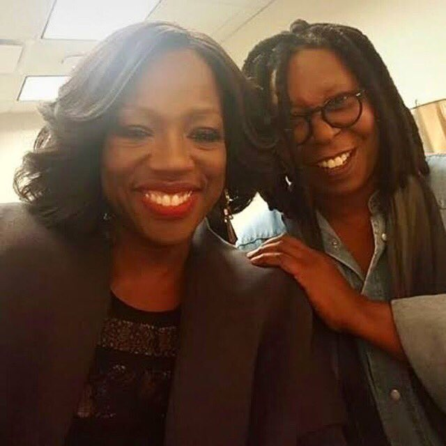 Happy birthday to the talented, awesome @WhoopiGoldberg! Sending love💛