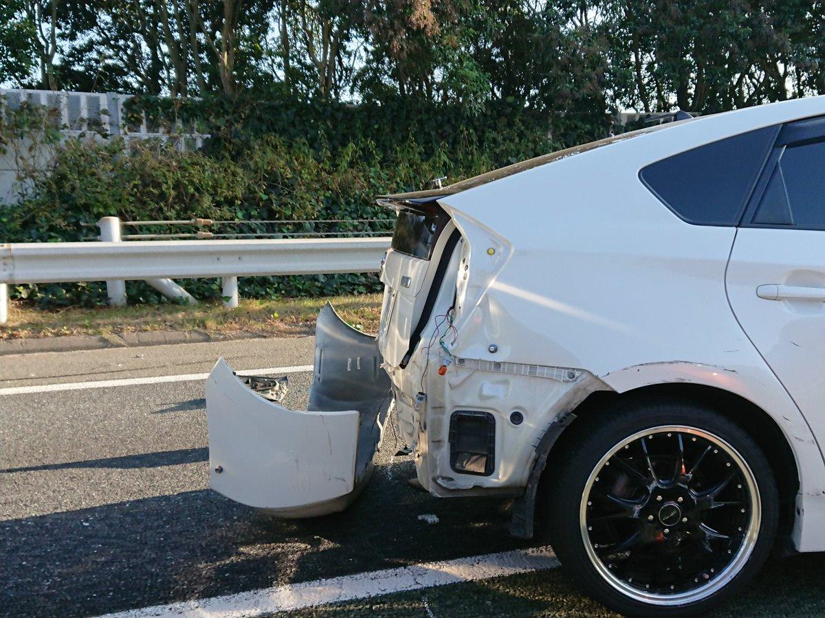 道 九州 事故 ツイッター 自動車