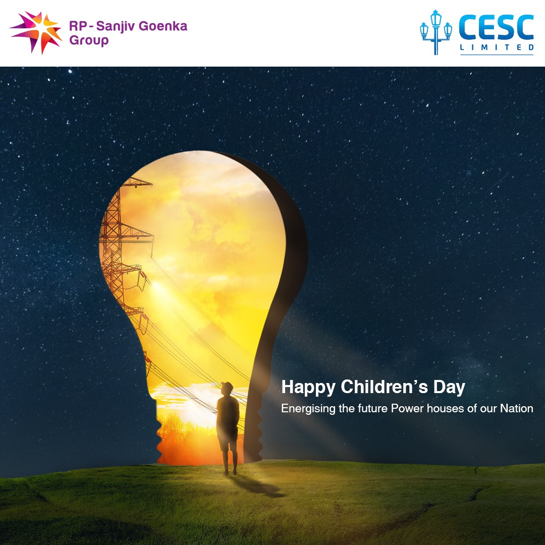 Children carry the hopes of our brighter tomorrow. This Children's day encourage your child to dream big. Happy Children's Day! 💏 #CESC #CESClimited #childrenday #children #kids #childrensday #happychildrensday #childrenphoto #childrens https://t.co/oz52jcV2KJ