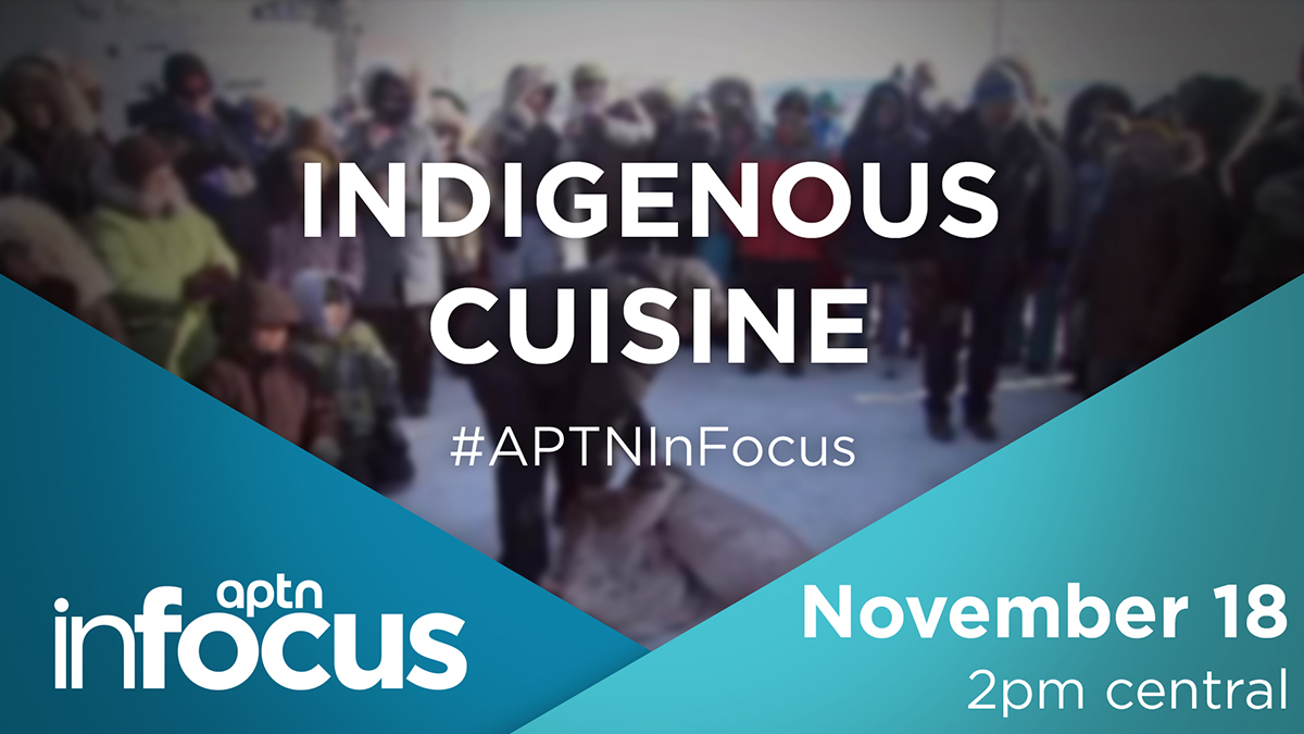 First Nation, Metis and Inuit have been harvesting food from this land for centuries. What's your favorite food from the land? Join Melissa Ridgen and Jesse Andrushko Wednesday, November 18 at 2 p.m. CT live on Twitter and on the APTN News Facebook page.