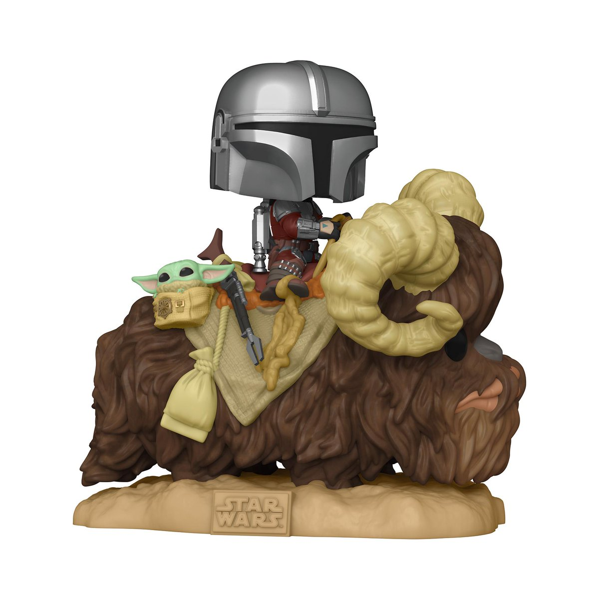 RT & follow @OriginalFunko for the chance to WIN The Mandalorian and the Child on Bantha Pop! Deluxe! #Giveaway #FunkoGiveaway #TheMandalorian #DisneyPlus