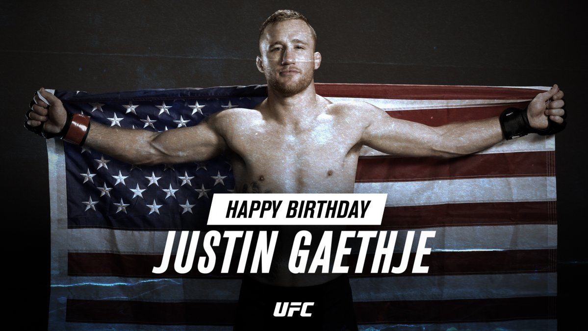 Happy Birthday to the Highlight, himself, @Justin_Gaethje 🤩 https://t.co/nqApe2hapn