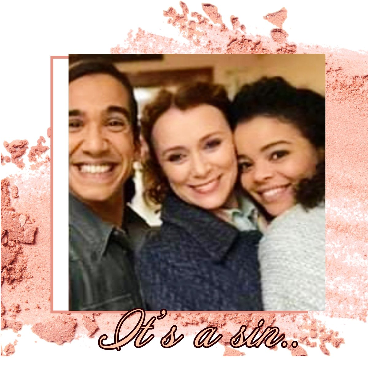 @HawesFans . Have a great Night.  It's a sin,  premiere early 2021) I hope you are very well, with that beautiful smile that you have . The Boys are beautiful. 💯❤#Hawesfans #itsasin #Misskeeleyhawes #boys #Ruselltdavies #LydiaWest #Nathanielcurtis.💯🌷🌈