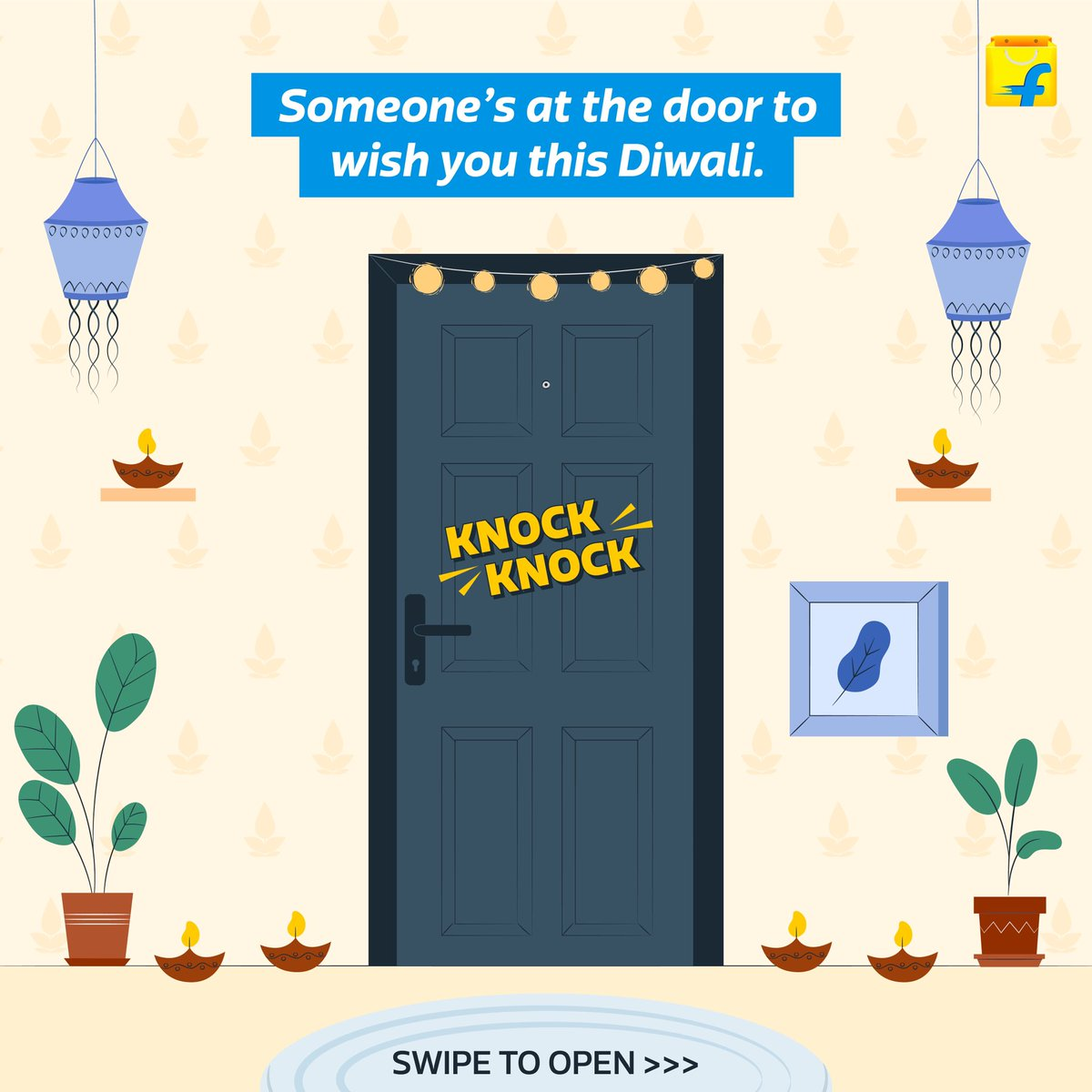While your friends and family may not be able to celebrate this Diwali with you, we'll go the distance to make sure you get their love.