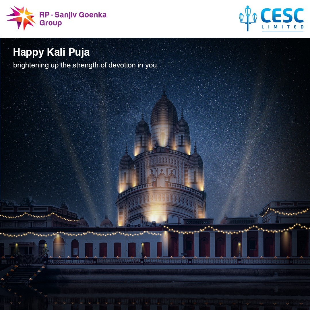 Celebrating the Goddess of Strength and Power. May the blessings of Maa Kali be with you always. Happy Kali Puja.😊 #CESC #CESClimited #kalipuja #diwali #kolkata #maakali #kali #bangaliculture https://t.co/HnrhEY3Pte