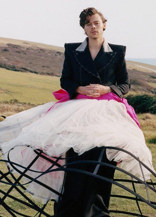 Harry Styles (Foto: Tyler Mitchell / Vogue)