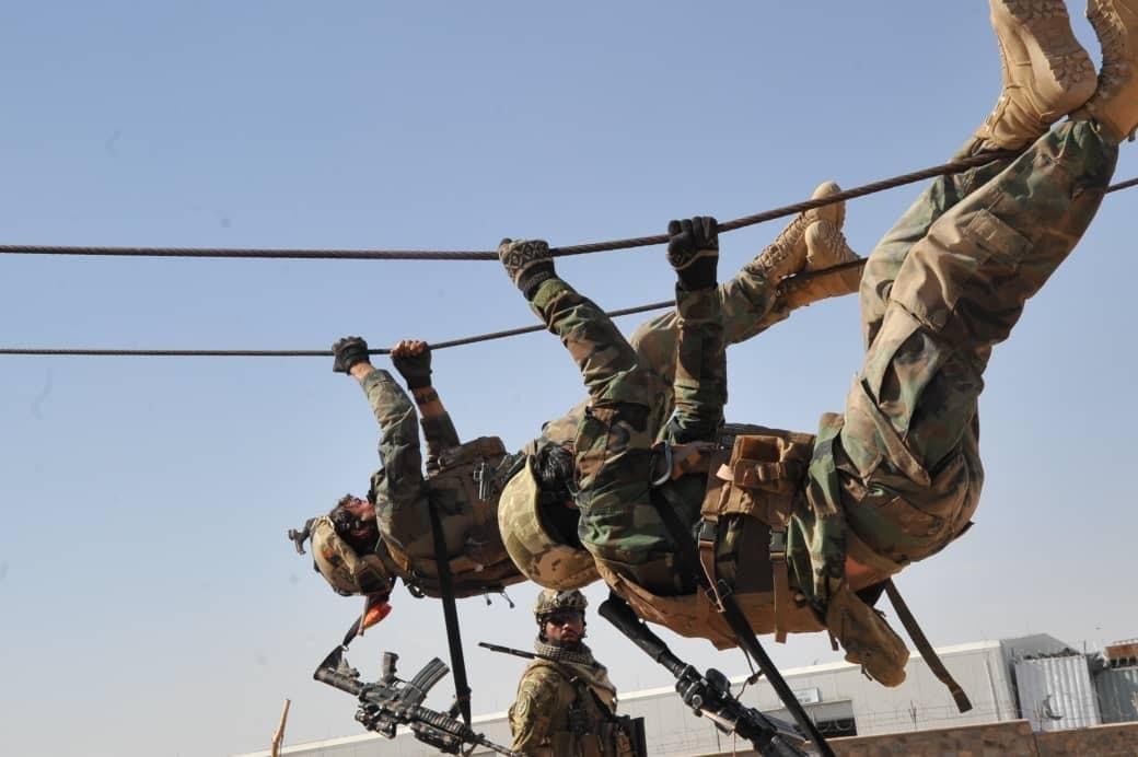کماندوهای افغانستان؛ قهرمانان مردم!