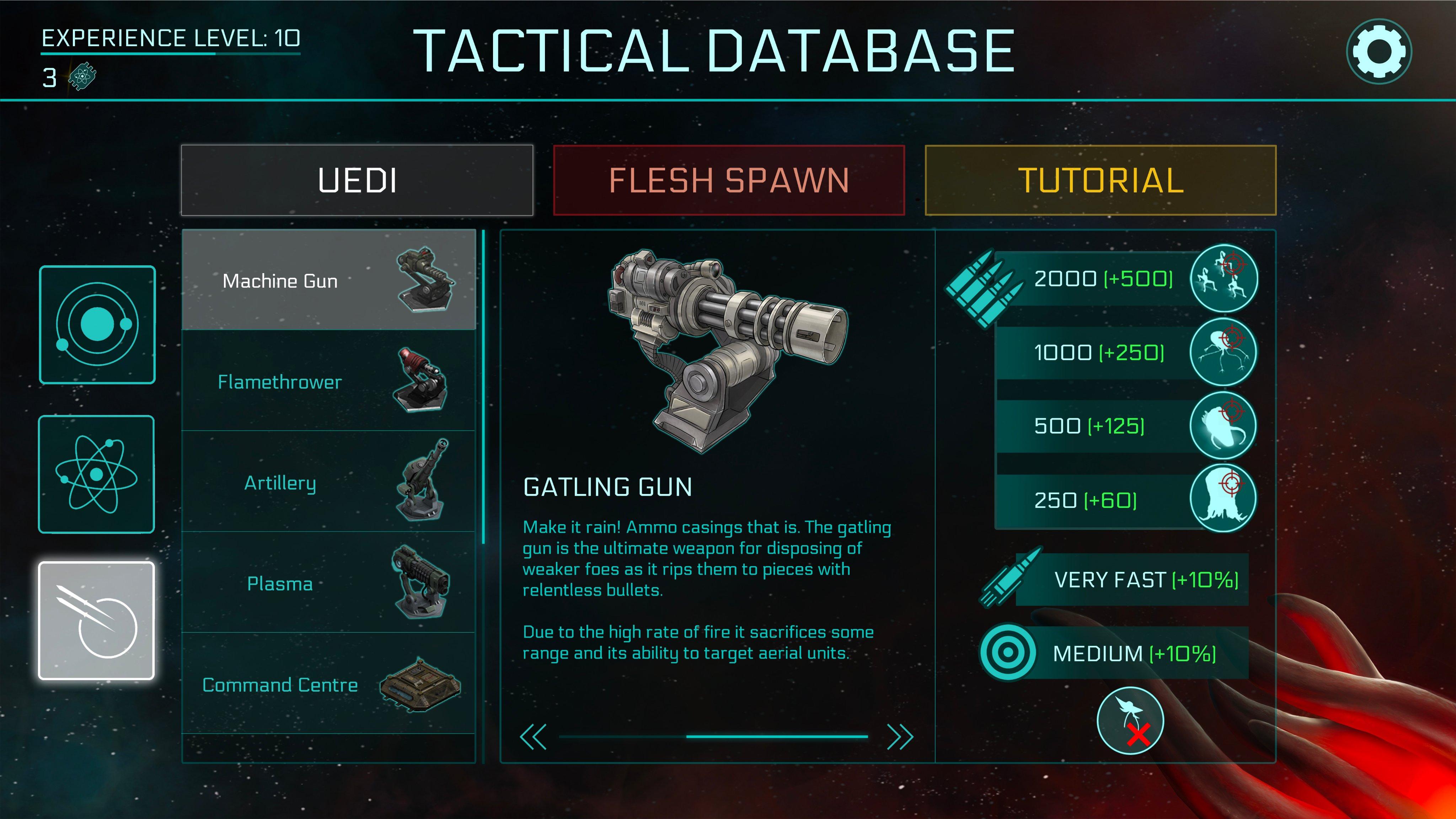 2112TD Tactical database overhaul