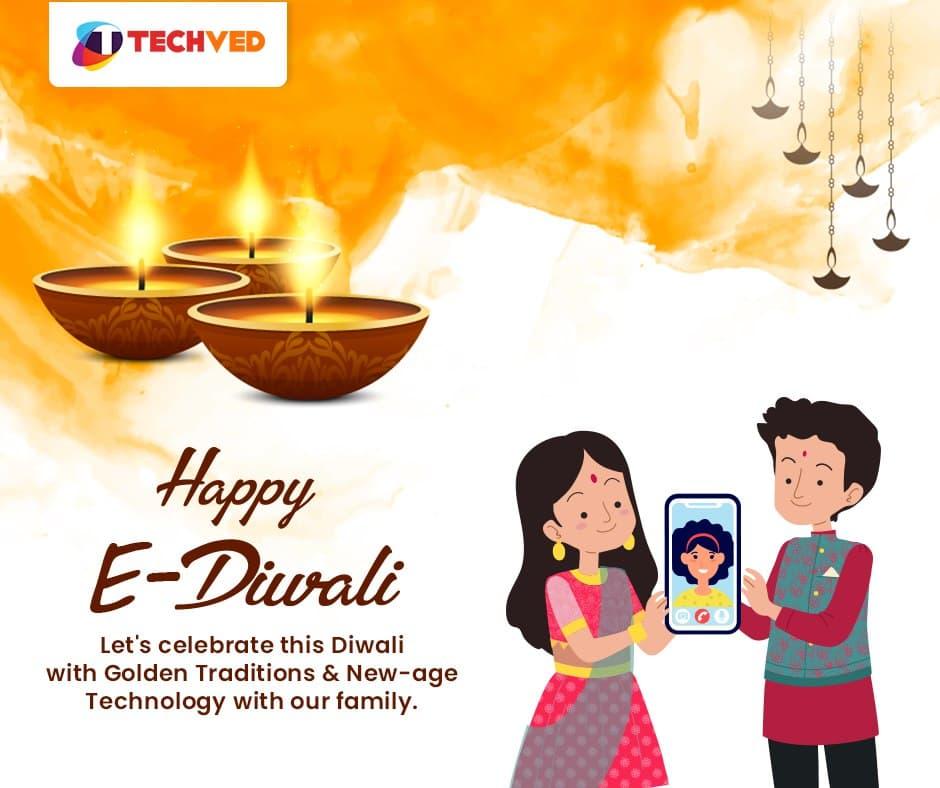 Wishing you a very Happy & Safe Diwali ⚡️  . #diwali2020 #happydiwali #techvedconsulting #lights #festivalvibes