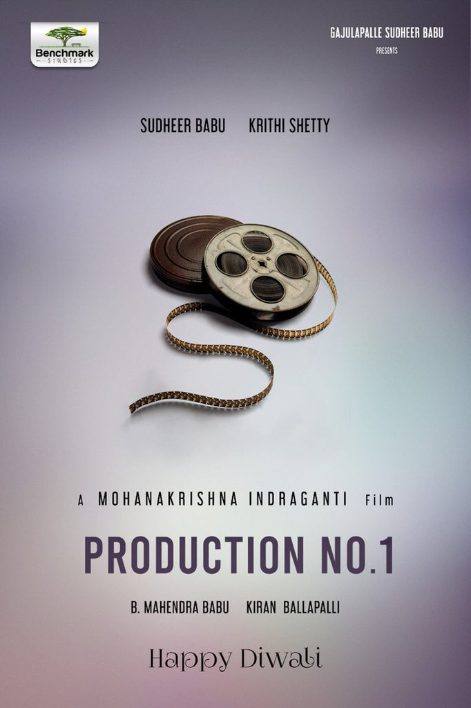 COLLAB! @i_sudheerbabu & #MohanakrishnaIndraganti team up for a New #Telugu film! Shoot starts soon. . Best wishes to the team @IamKrithiShetty @mahendra7997 @Kiranballapalli @PGVIndia #RRaveendar #VivekSagar  . #SidK #SiddharthKannan