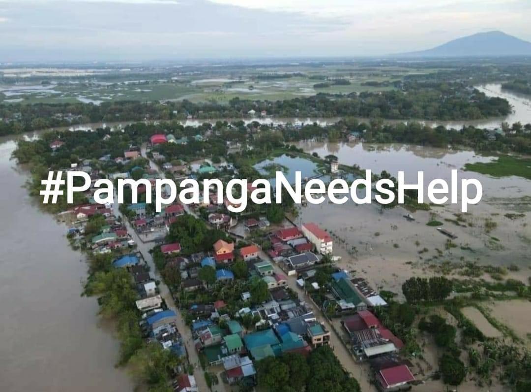 Pls help them . #PampangaNeedsHelp