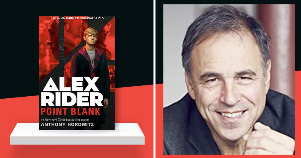 "Our pick for weekend binge-watching: ""Alex Rider,"" adapted from @AnthonyHorowitz 's best-selling series. We talked to the author about this new 8 episode TV series and his books:"