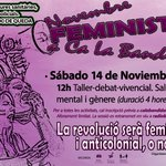 Image for the Tweet beginning: Escolta el Novembre Feminista a