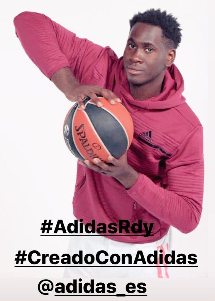 La nueva tecnología COLD.RDY de @adidas_ES ❄❄ 🏀 Usman Garuba (@destusman1) #AdidasRdy #CreadoconAdidas