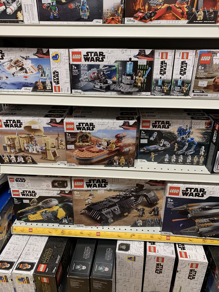 @FraserEsports I was tempted today but I think I'll wait until I can get the Mandelorian Transporter.