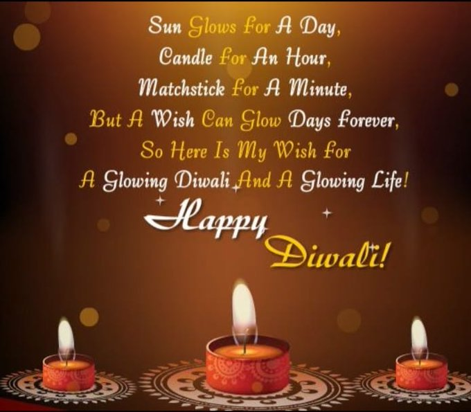 I wish all my Fans from India and all around the world a Happy Diwali. Much love for everybody 😍😘 https://t
