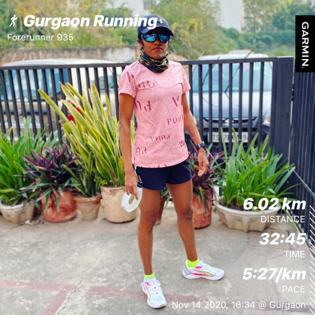 Gear test! Recently received the @PUMA #ultrakit for being one of the top finishers of @Indiarunasone  A short and comfortable test run... Felt amazing!!! . . #sunfeastindiarunasone  #pumaultraride  #pumashoes  #eveningrun #garmin #beatyesterday