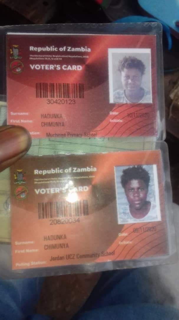 Ba @ZambiaElections how is it possible for one person to register as a voter more than once. This is a major defect in the system. Please address this with the urgency it deserves.   Zikomo.   #VotingSquad.