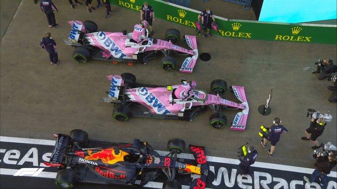 Clasificación de locura, mañana carrera espectacular en el Gran Premio de Fórmula 1 Turquía circuito de Estambul 2020