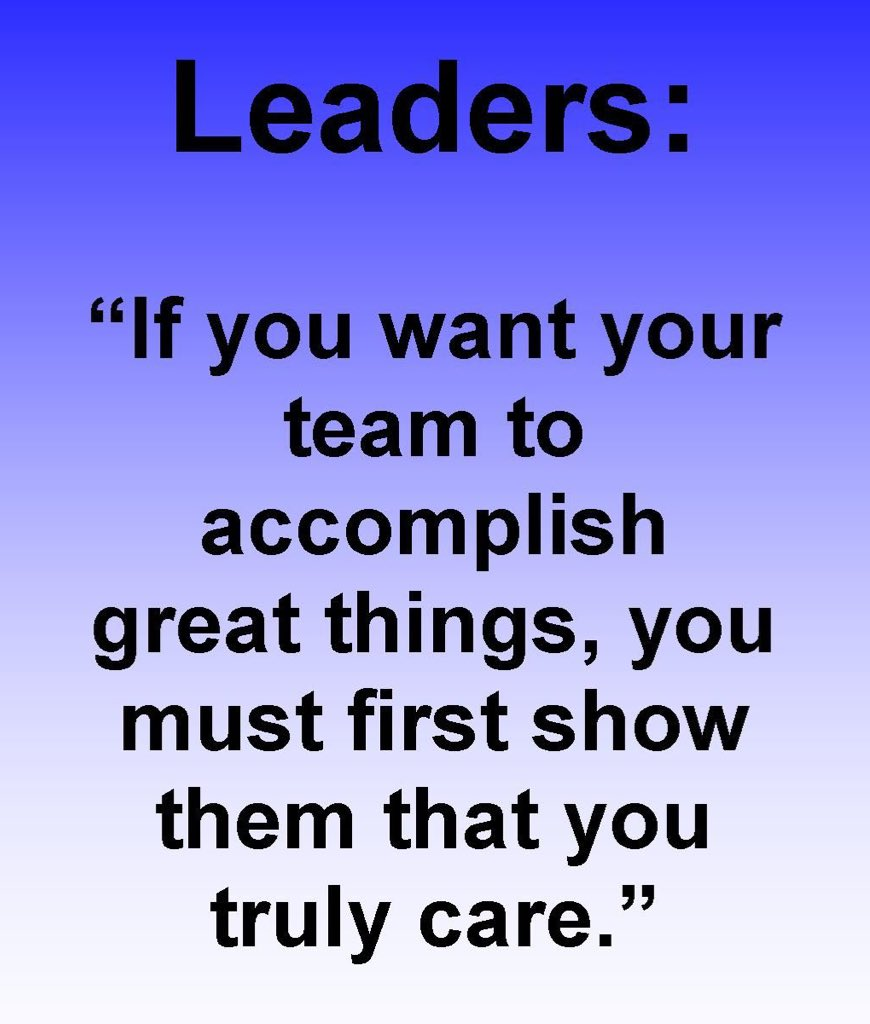 Leadership is not about being in charge. Leadership is taking care of those in your charge. #LeadershipMatters