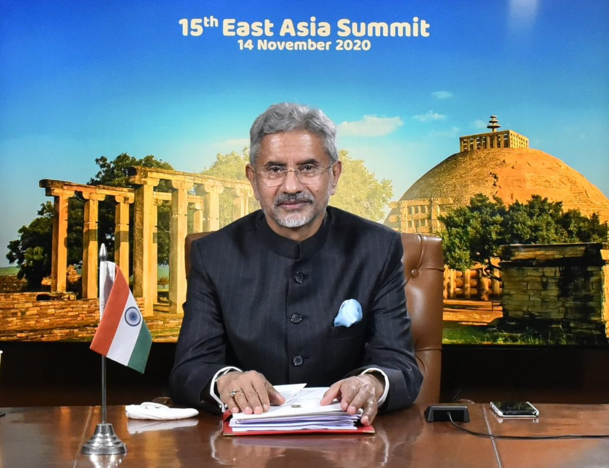 EAM @DrSJaishankar represented India at the 15th East Asia Summit. Press release at : mymea.in/f9j