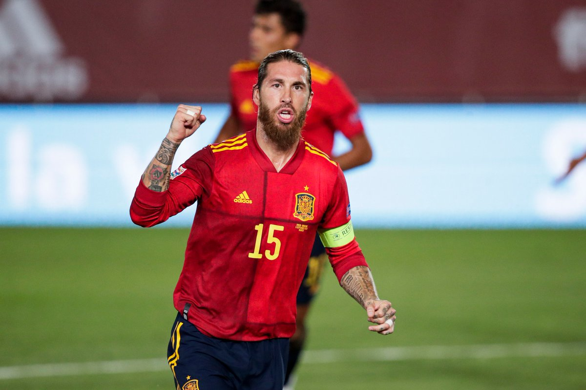 @EURO2020's photo on Sergio Ramos