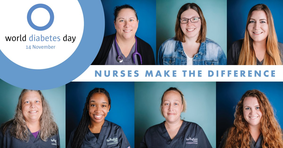 The theme of this year's #WorldDiabetesDay highlights the important role nurses play in supporting people living with diabetes. A special shout out to the nurses on our Endocrinology team for their outstanding work.  #DiabetesAwareness #NursesMakeTheDifference