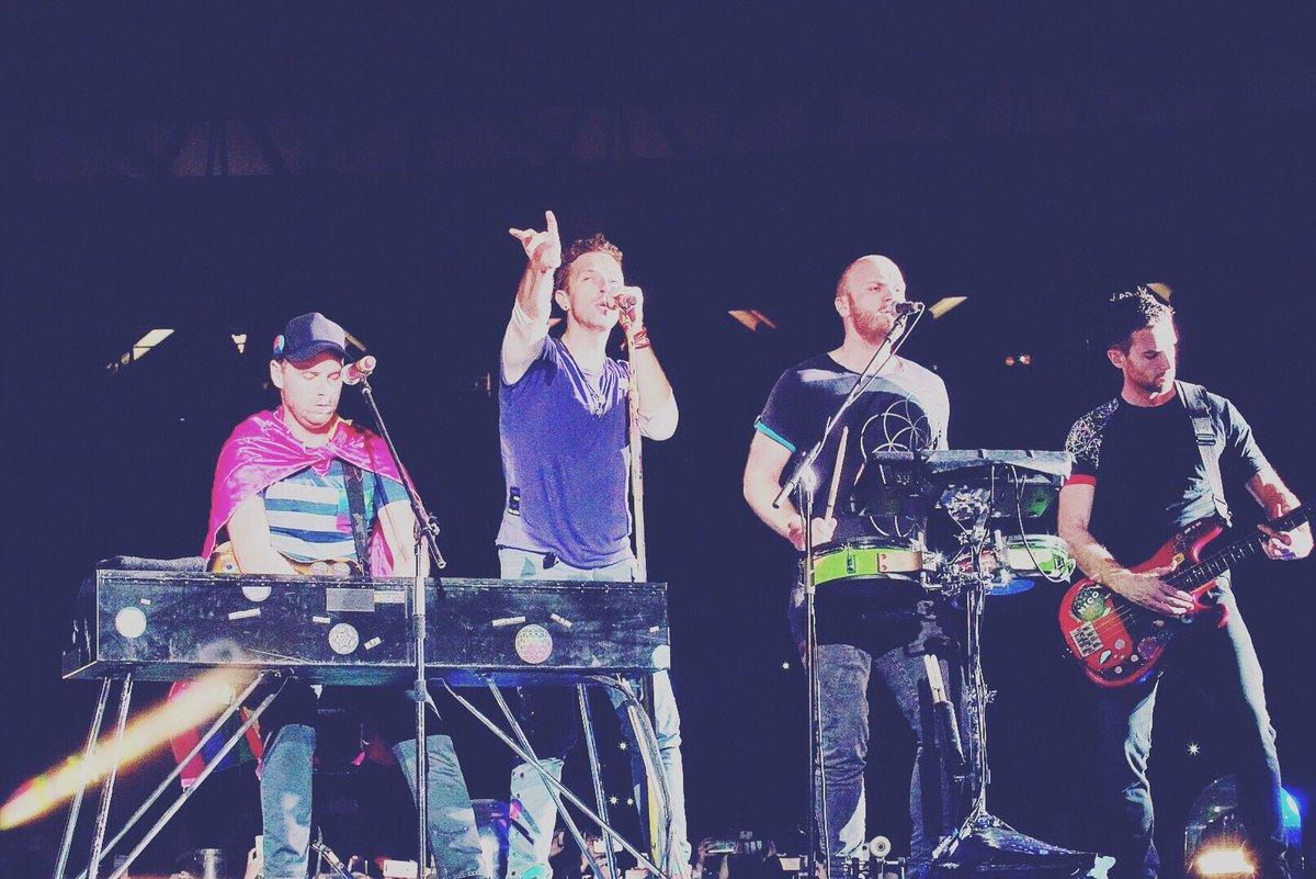 Hoy se cumplen 3 años del recital de Coldplay en 🇦🇷  #AHFODtour