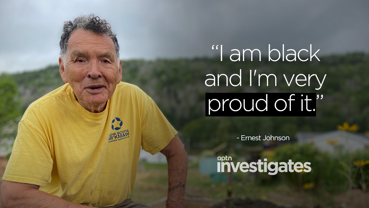 Oral history tells the stories of Mi'kmaq helping Black people escape slavery. Mi'kmaw Elder Ernest Johnson says a side-effect of racism is the denial of Mi'kmaw or Black ancestry, an identity he celebrates. Watch the latest episode of APTN Investigates: aptnnews.ca/investigates/n…
