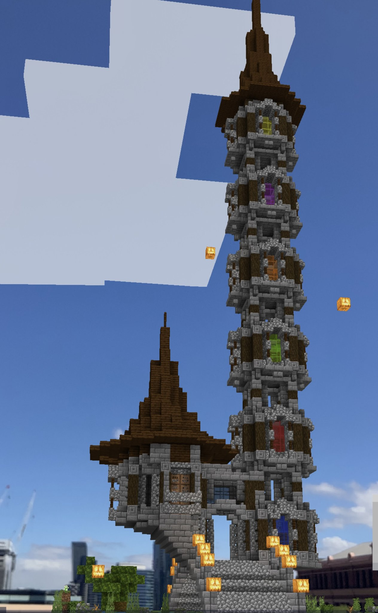 """Minecraft Earth on Twitter: """"For latest challenge, builders were"""