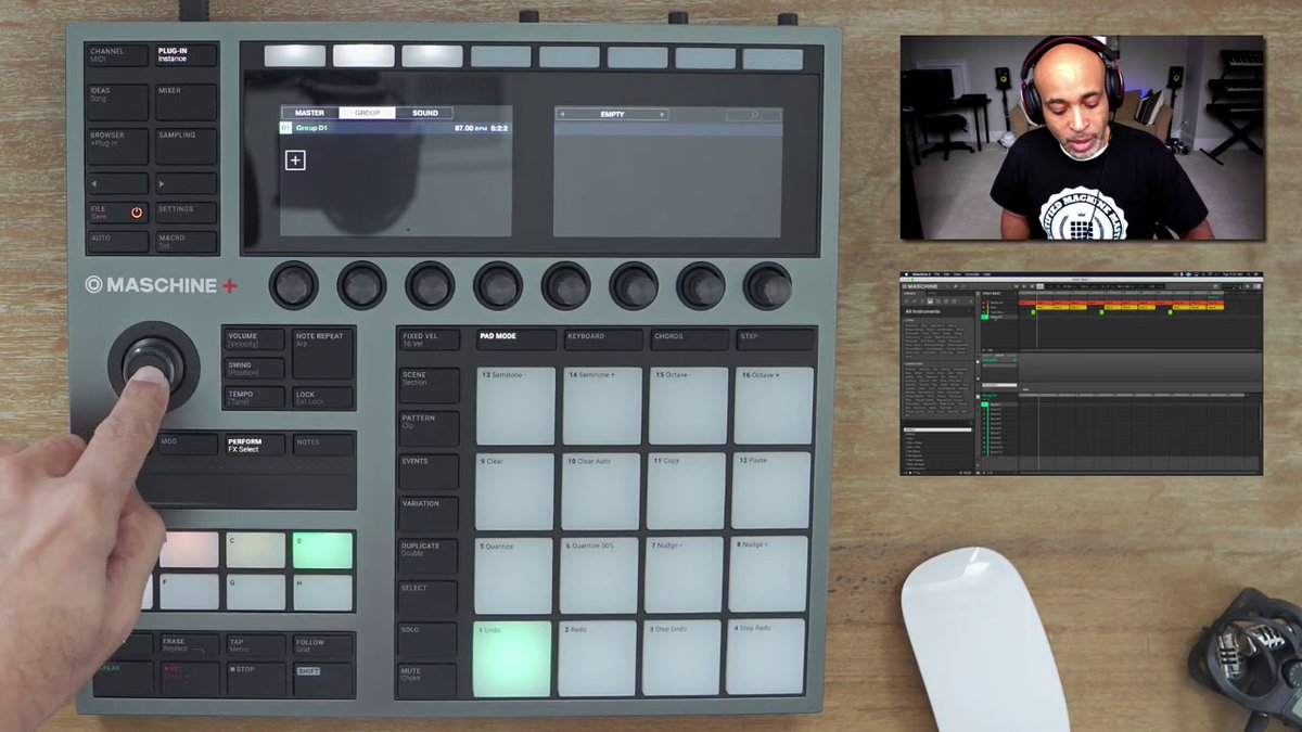 .@aggotbeats shares his '3 must use FX' in MASCHINE+. Watch → bit.ly/3mAfIAO 🎧