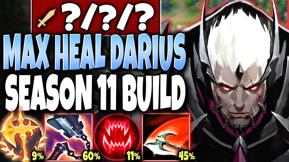 BaLoRi - Our Darius Season 11 Max Heal Build will CHANGE THIS GAME 🔥