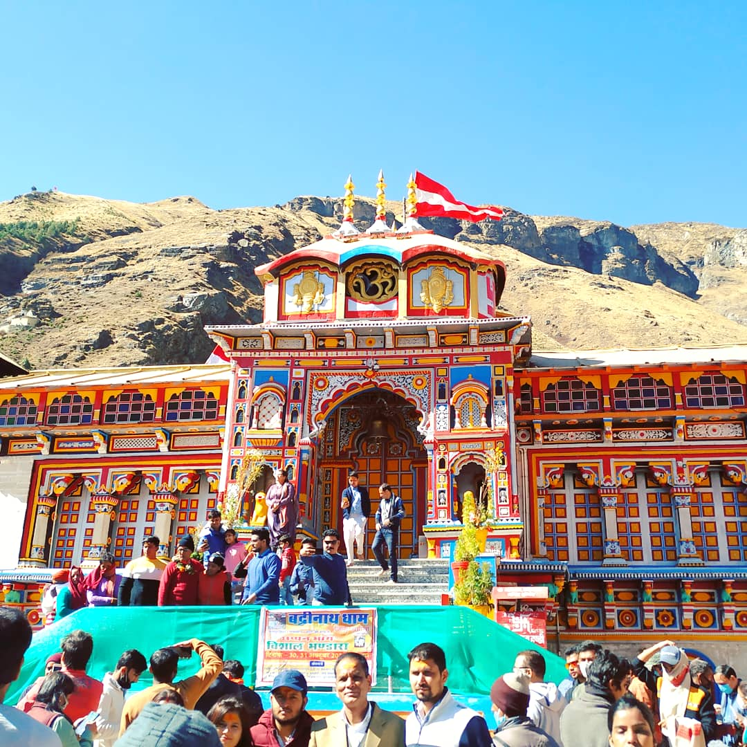 Badrinath Dham Trip, Jai Badri Vishal 🙏 #badrinathdham #badrinathtemple #badrinath #AnkitGuryan https://t.co/2t6BvihJaf