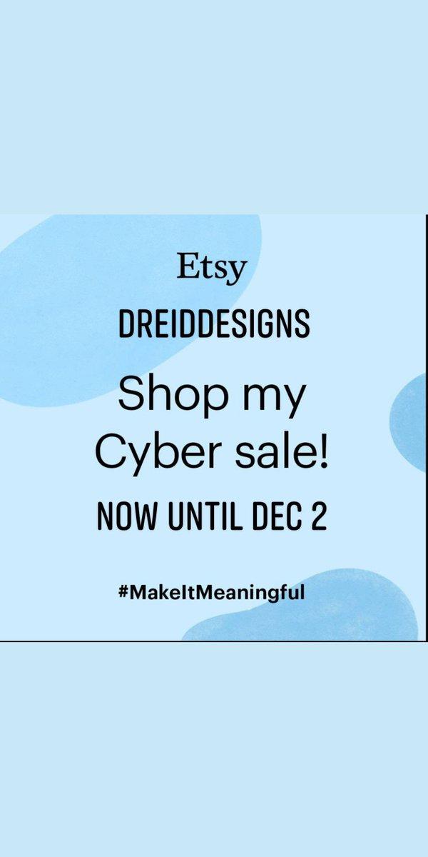 Make your Cyber Week  is up to 20% off!  #etsyshop #blackfriday #thanksgivingsale #cybersale #satinbonnets #resinart #christmasearring #earrings #onlineboutique #onlineshop #keychain #maskup #blackfridaydeals #totebag #crochetscarf #khemeticjewellery