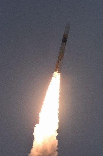 В Японии запустили ракету со спутником оптической ретрансляции данных