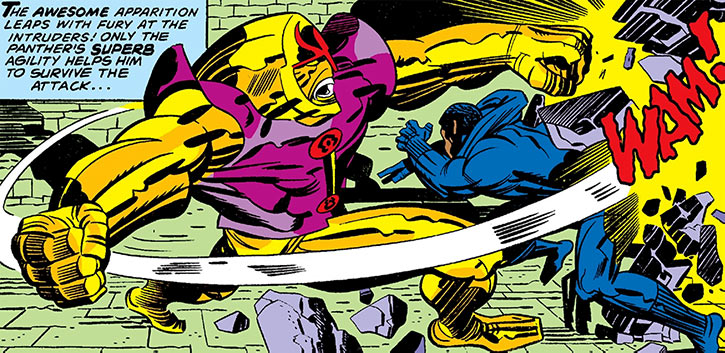 Added a small article about #marvelcomics' Ogars. Them's guardian golems in King Solomon's tomb. One fought the #BlackPanther once.