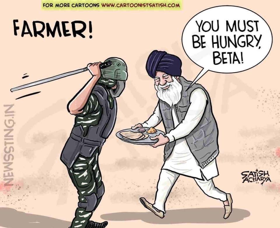 @KapilSharmaK9 सुनो साहेब!! ये किसान हैं, बेज़ुबान सरकारी संस्थान नहीं कि अपने दोस्तों के हाथ औने-पौने दाम में बेच दोगे।
