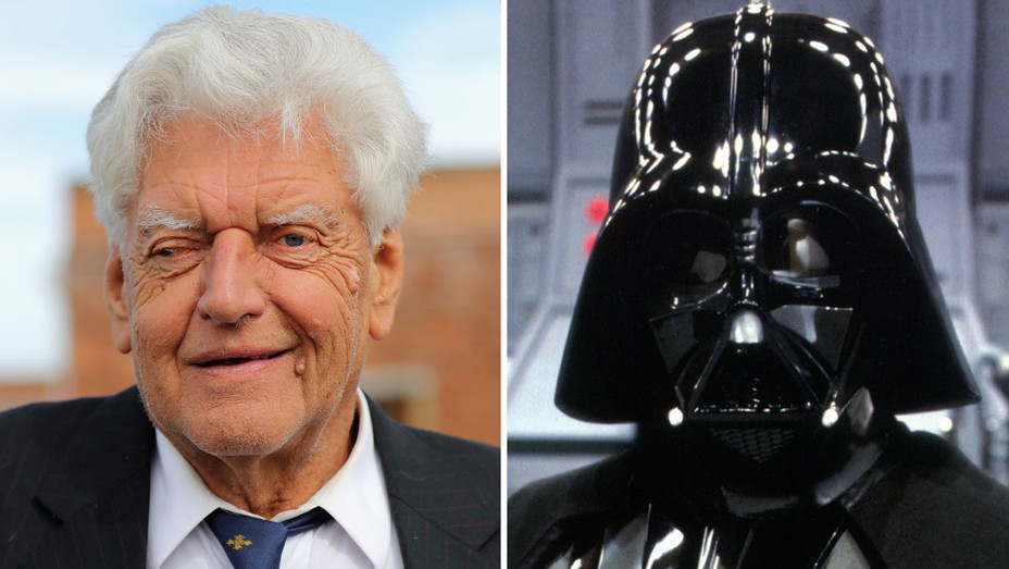 David Prowse, the champion English weightlifter and bodybuilder who supplied his 6-foot-7 frame — but not the voice or the deep breathing — to portray Darth Vader in the original 'Star Wars' trilogy, died early in the morning on Saturday