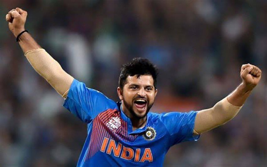 Happy belated bday my brother.. my show released n ur bday happened on de same day, so I just missed it 🙈✊.. waiting to see u hitting sixes this year.. lots of love @ImRaina 🤗
