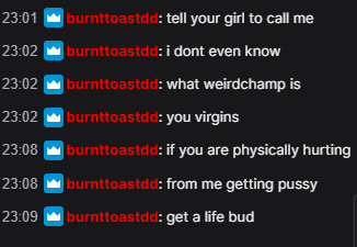 Wingsofdeath - Honestly if you're not as alpha as this guy I don't even want you in my chat