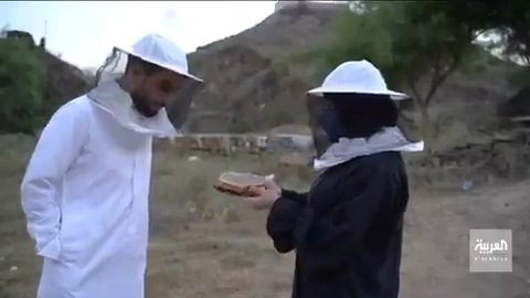 نحالة سعودية تنتج أكثر من10 أطنان من عسل السدر سنويا #صباح_العربية