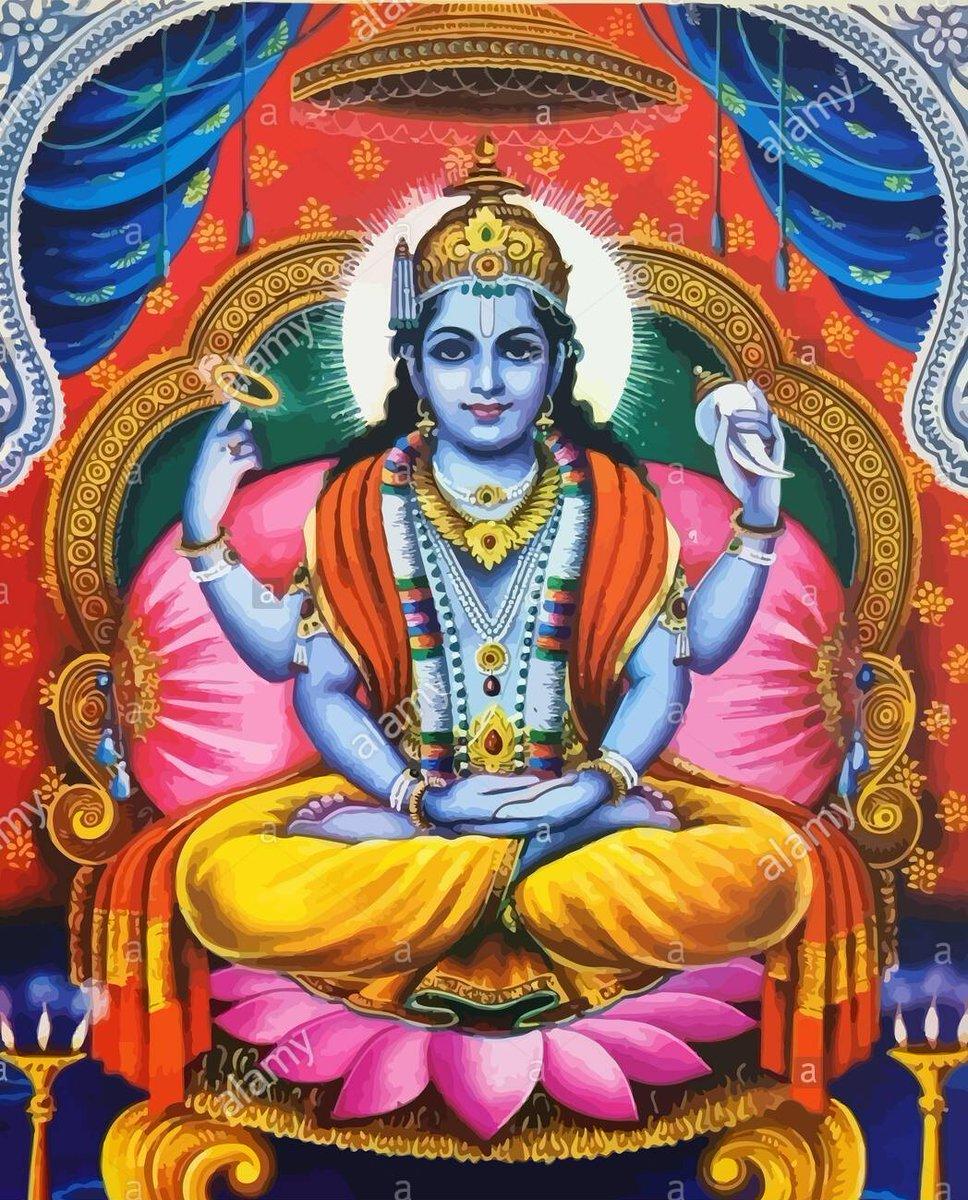 गन्धमादनकूटस्थं नरनारायणात्मकम् । बदरीखण्डमध्यस्थं श्रीबद्रीशं नमाम्यहम् ॥ #badrinath #rarepainting https://t.co/Qmvrkm0dJT