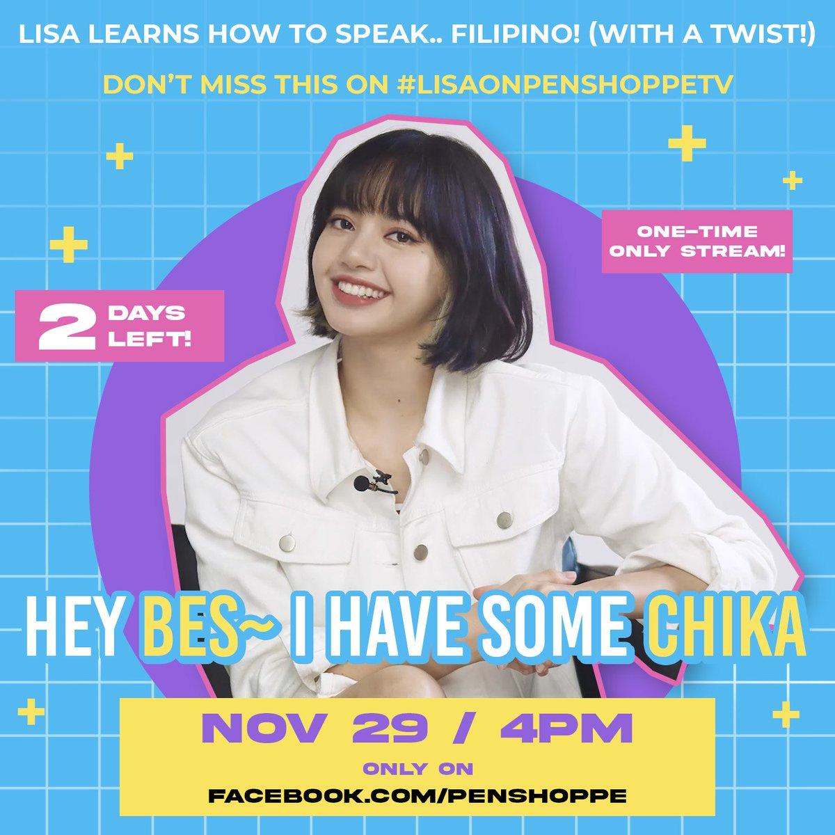 Pas kemarin ♥️  Lisa cantik banget Dapat asupan lagi dari Penshoppe  Live streaming di Facebook Penshoppe Huu gak sabar lihat teh lisa😍💗 #LisaOnPenshoppeTVTODAY  #LISA