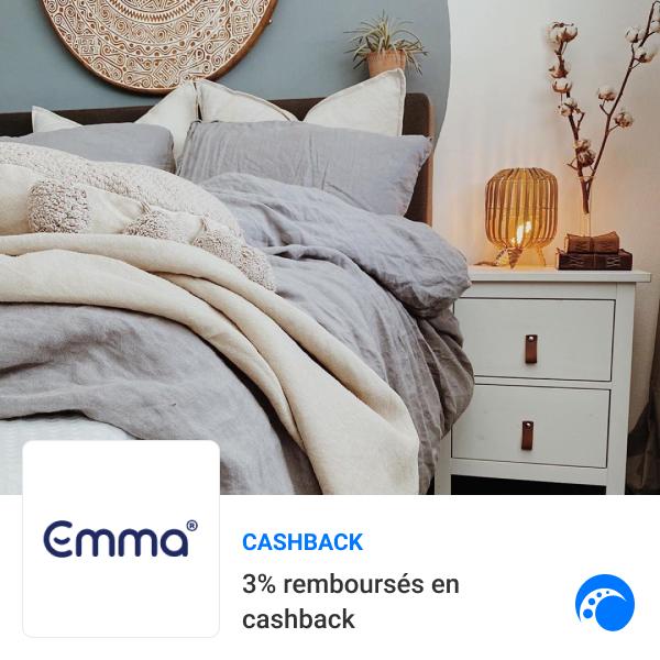 [Objectif Confort] 🛏️Succombez pour une nouvelle literie pour des rêves plus doux 👉Jusqu'à 50% DE REMISE + 3% DE CASHBACK sur vos achats chez EMMA MATELAS. https://t.co/ORoXwl4eTe https://t.co/GE7uglJeY4