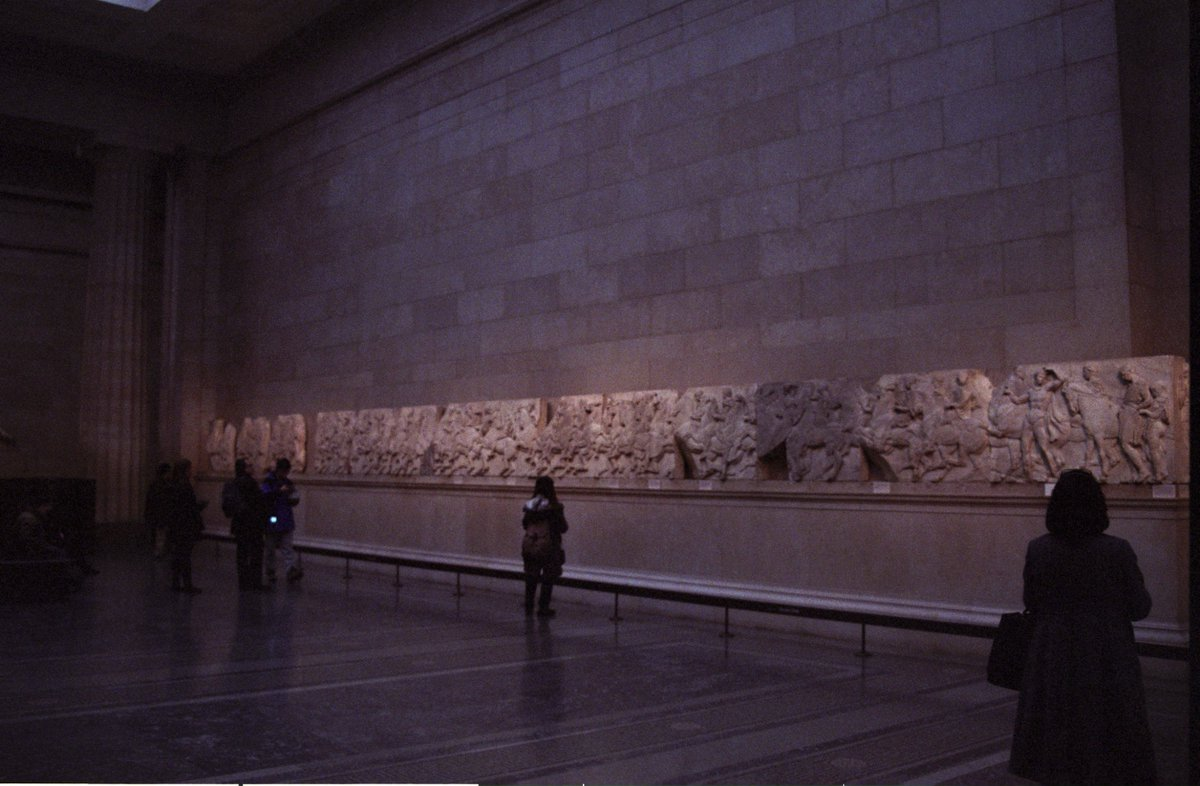 Natural lighting, late in the afternoon/early evening @britishmuseum in January 2009.  #museumsunlocked #night