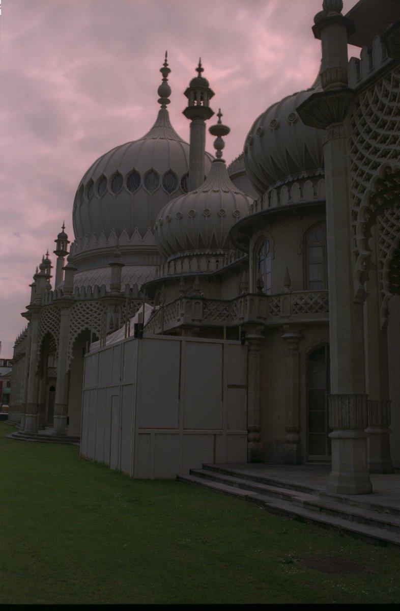 #Brighton Pavilion in the evening, around 2010.   #MuseumsUnlocked   #night