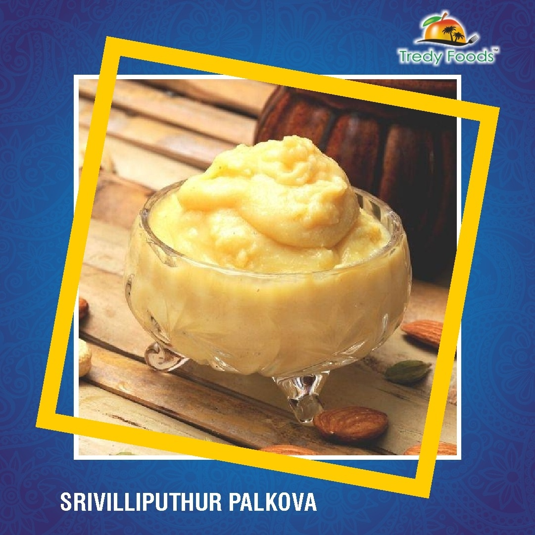 Srivilliputhur Palkova: https: Made of pure and rich cow milk added with the right quantity of sugar.  #tredy #tredyfoods #palkova #Srivilliputhur #Srivilliputhurpalkova #milksweet #palkhova #khova  #yummy #delicious #yum #dessert #foodie #tasty #fresh