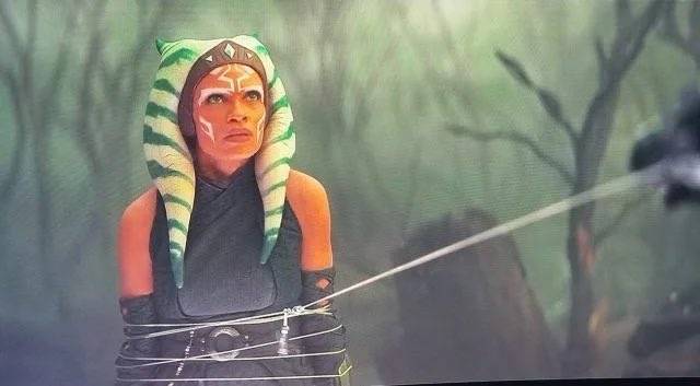 @rosariodawson crushed it as my favorite #StarWars character in #TheMandalorian !!! #AhsokaTano