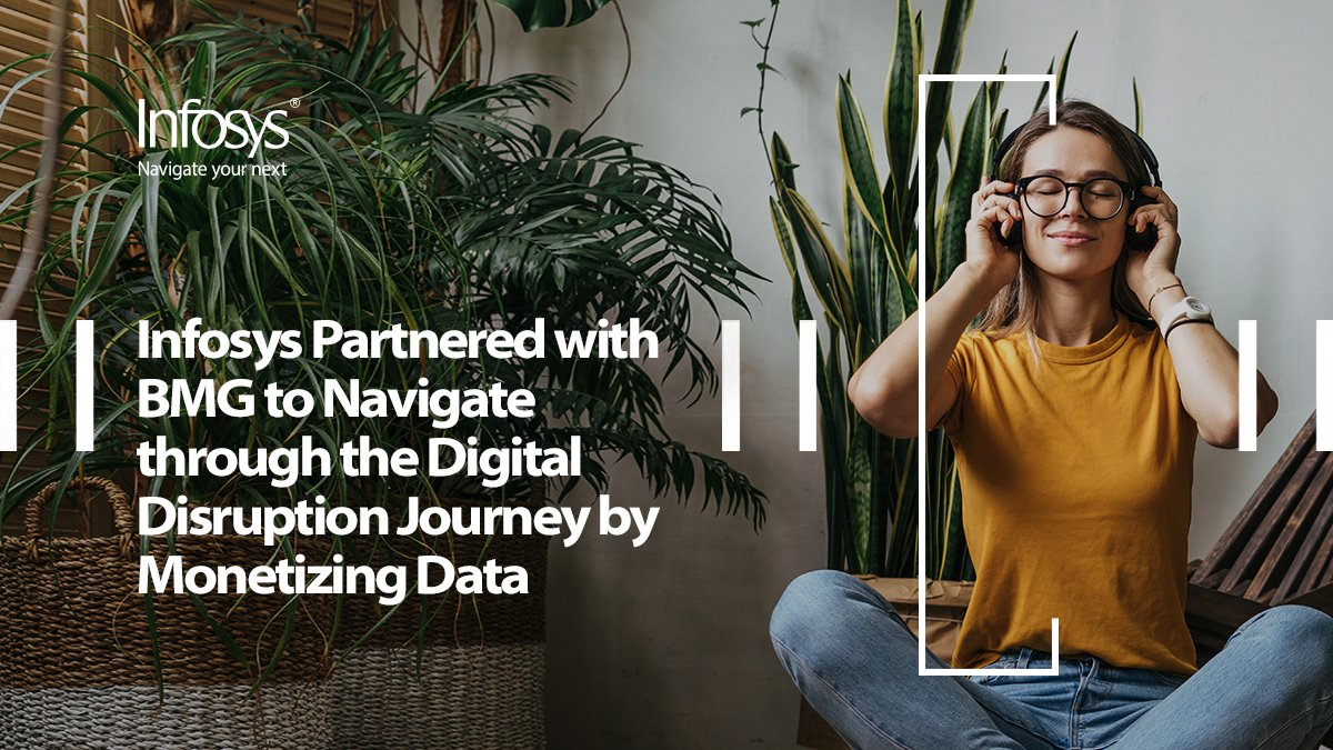Watch how Infosys partnered with BMG to navigate through the #digital #disruption using #appliedAI https://t.co/m3acThSslE https://t.co/ltA28VUe9l