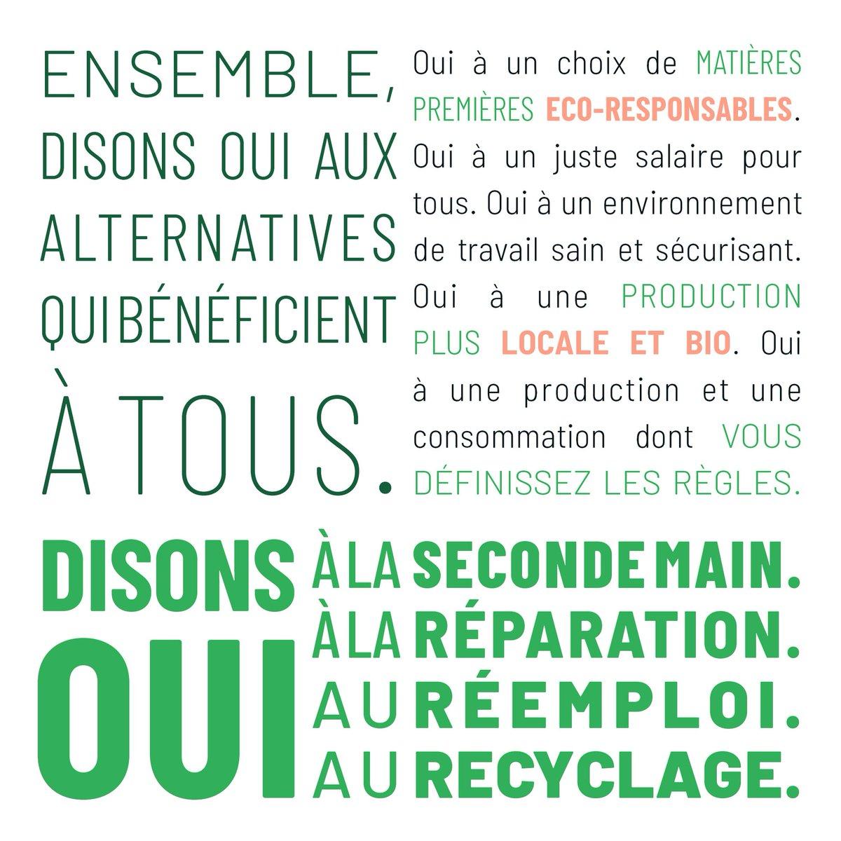 [VEILLE] 📣 Aujourd'hui, c'est le #GreenFriday ! Découvrez le mouvement anti #BlackFriday2020 et engagez-vous pour l'éco-responsabilité et une consommation plus responsable. #OffronsResponsable #ConsommerAutrement @legreenfriday @Envie_org  👉